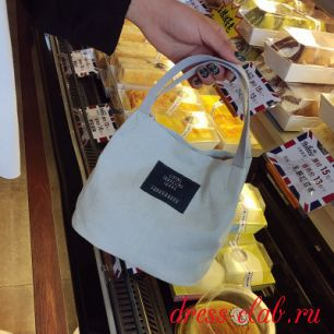 Женская сумочка тканевая