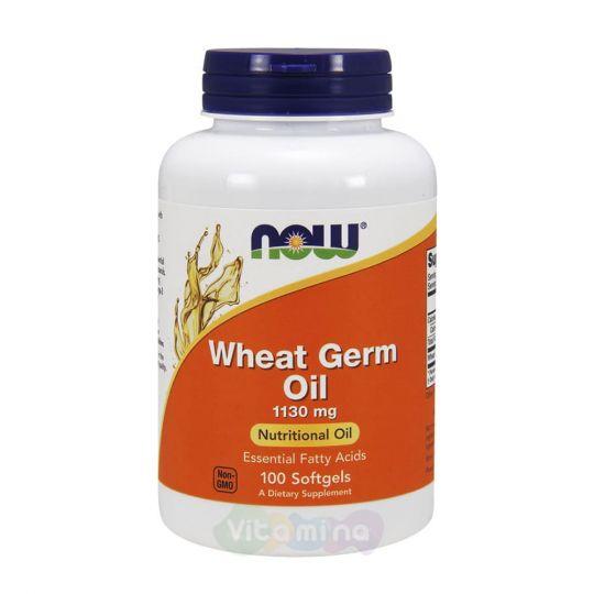 Now Foods Масло зародышей пшеницы Wheat Germ Oil, 100 капсул