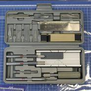 Набор ножей с цанговым зажимом, 30 предметов