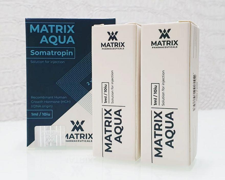 Гормон роста MATRIX AQUA