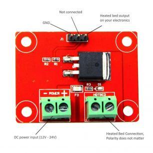 Модуль для подогреваемого стола MKS HOTBED MOS V0.1