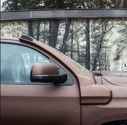 Шноркель Тойота Тундра Toyota Tundra 2014- третье поколение