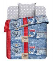 """Подростковое постельное белье """"Джинса"""" рис.9341"""