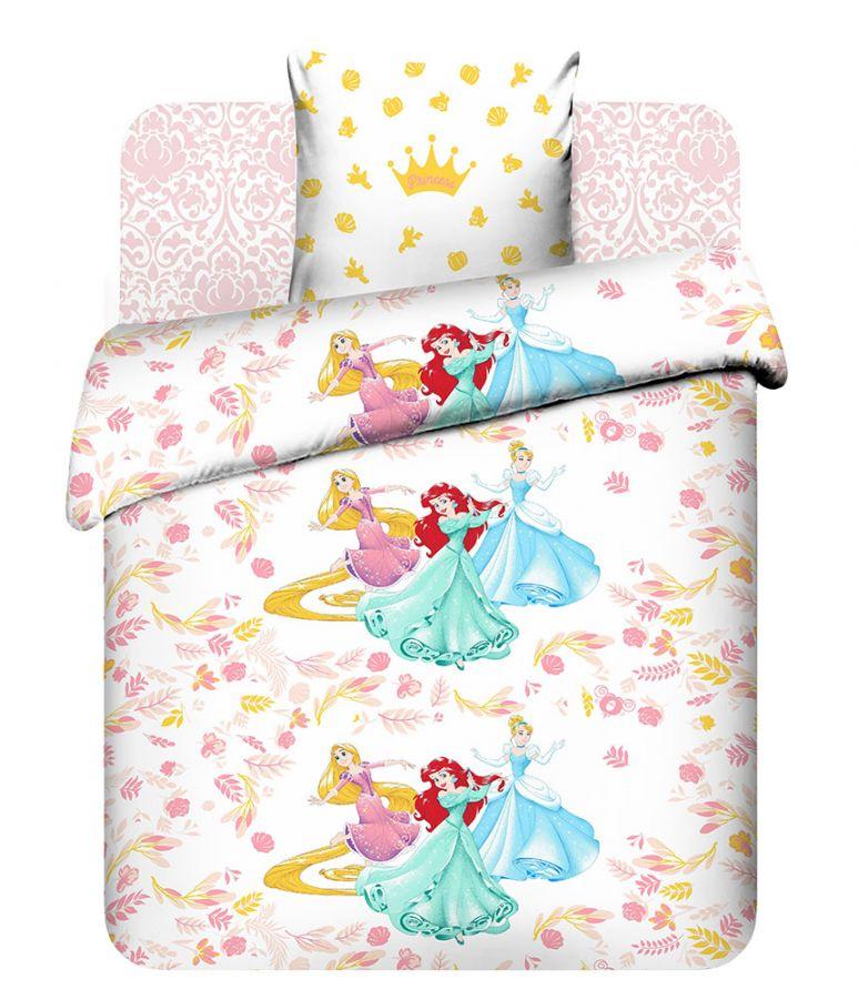 """Детское постельное белье """"Прекрасные принцессы"""", рис.7733"""