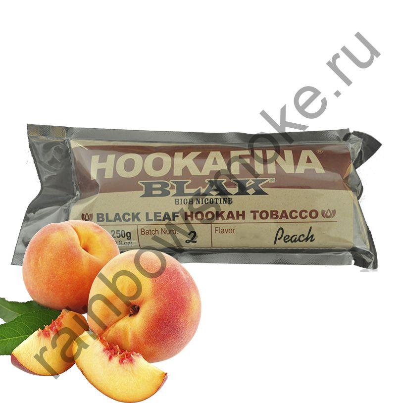 Hookafina Blak 250 гр - Peach (Персик)