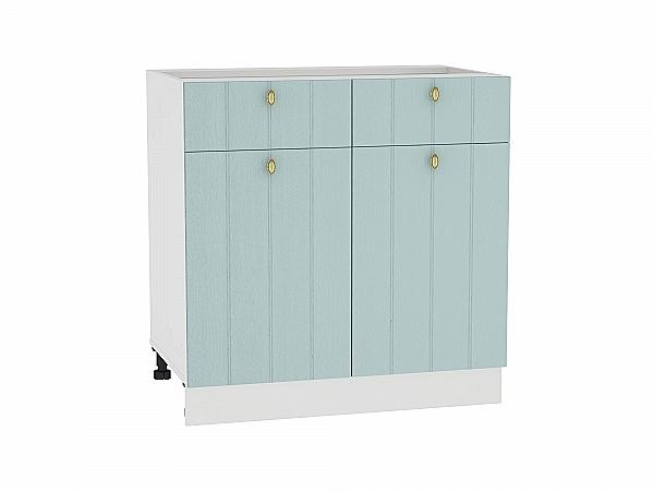 Шкаф нижний Прованс Н801 (голубой)