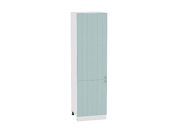 Шкаф пенал Прованс ШП600Н (голубой)