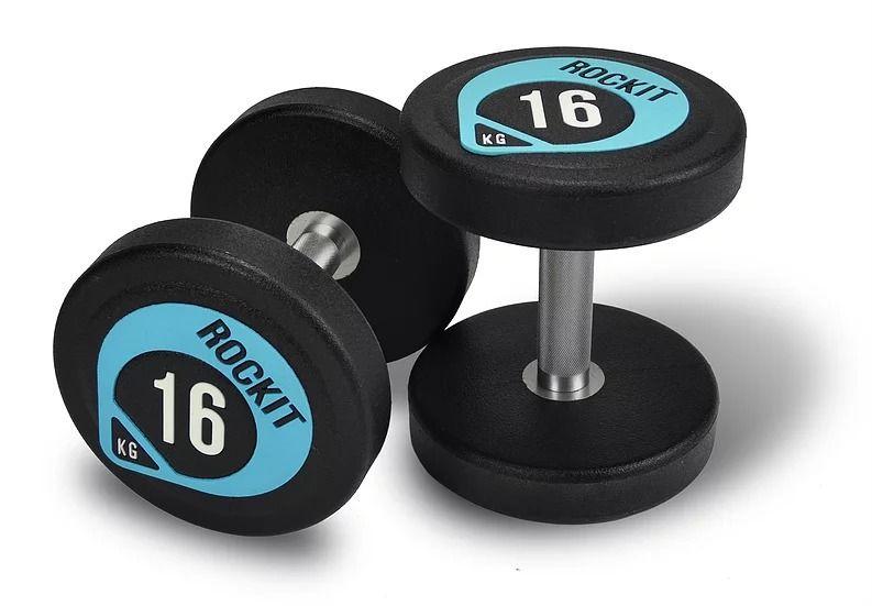 Набор уретановых гантелей Rockit 2-20 кг (220 кг, 10 пар)