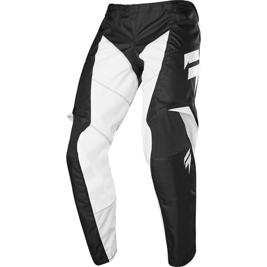Shift - 2020 Whit3 Label Race 2 Black/White штаны, черно-белые