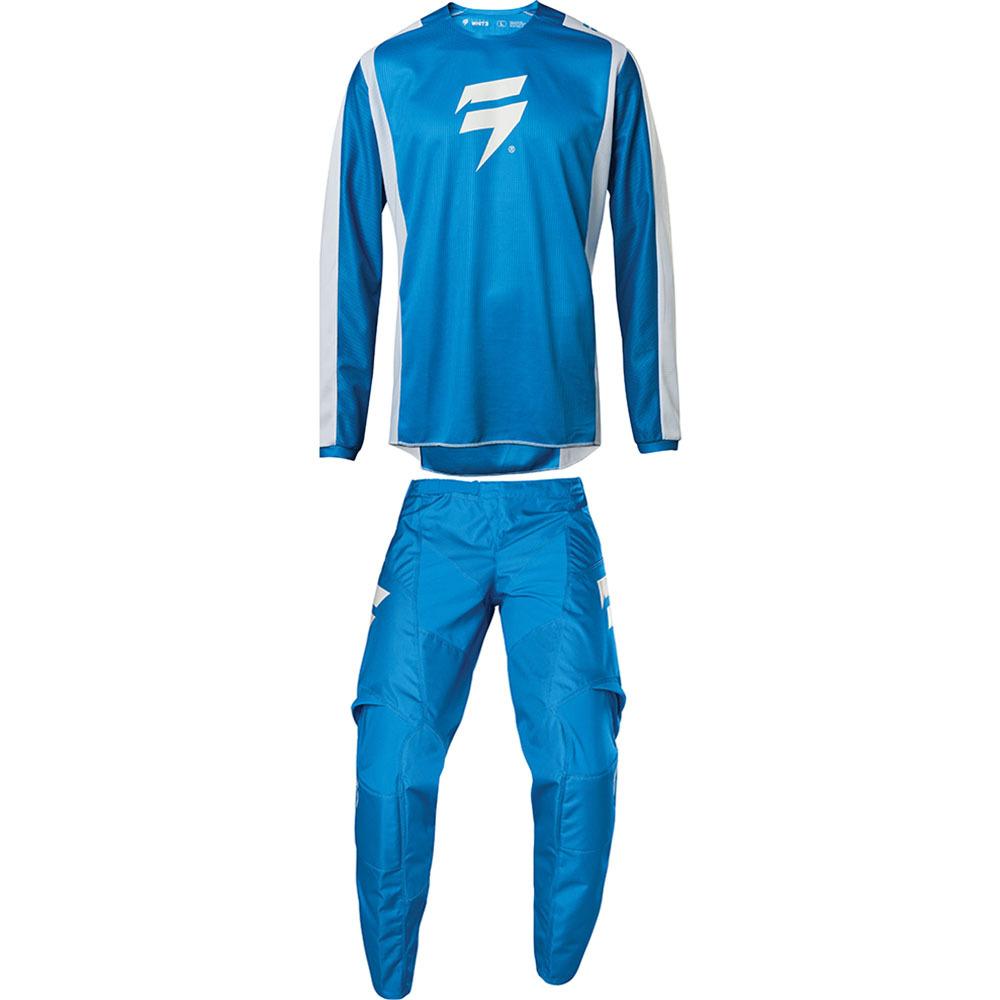 Shift - 2020 Whit3 Label Race 2 Blue/White комплект джерси и штаны, сине-белый