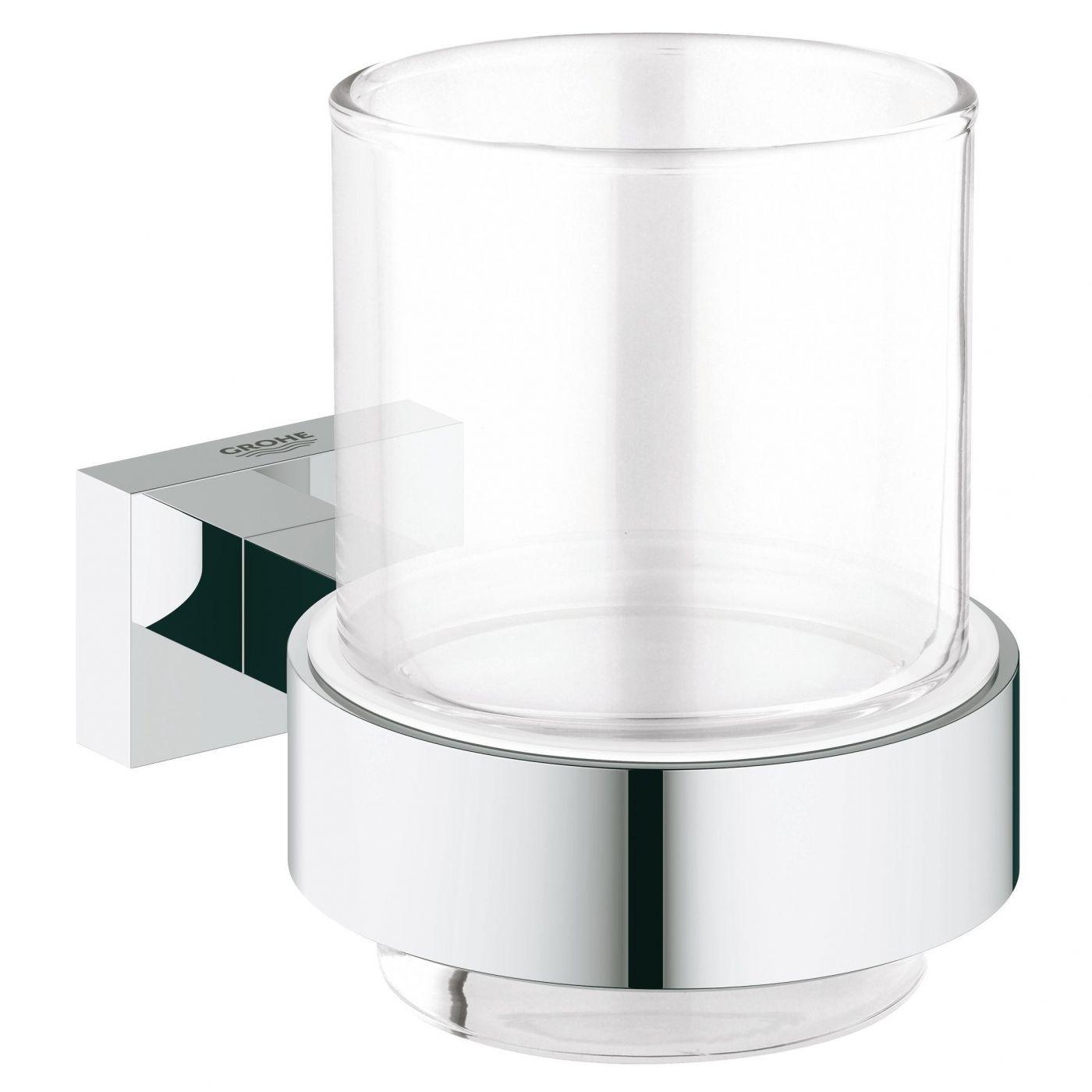 Стакан для зубных щеток Grohe Essentials Cube (40755001)