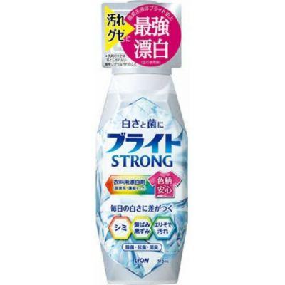 Lion Bright Strong Гель-отбеливатель кислородный для стройких загрязнений Супер Яркость с антибактериальным эффектом