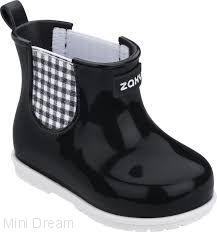 Сапожки black&white