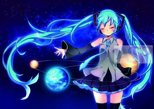 Плакат Vocaloid