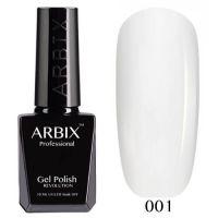 Arbix 001 Белый Гель-Лак , 10 мл