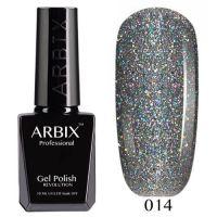 Arbix 014 Алмазное Сияние Гель-Лак , 10 мл