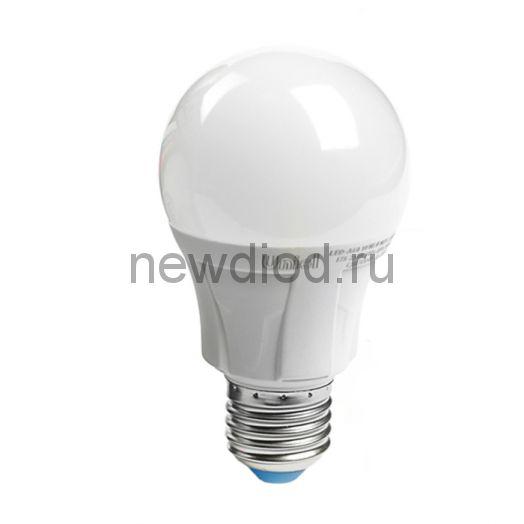 Лампа светодиодная LED-A60 13W-6500K-E27-FR Яркая 6500К матовая Uniel