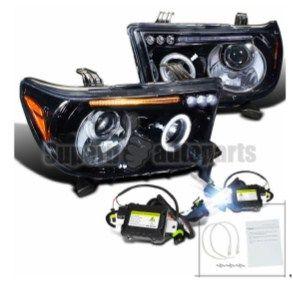 Оптика LED Toyota Tundra Тойота Тундра 2007-2013г. Cеквойя 2007-13г.