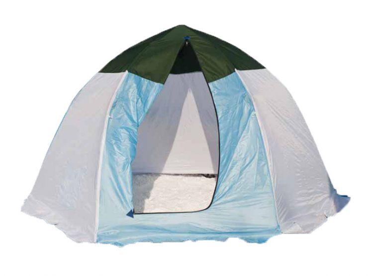Палатка   зимняя Стэк  3-х мест брезент 260*230*160