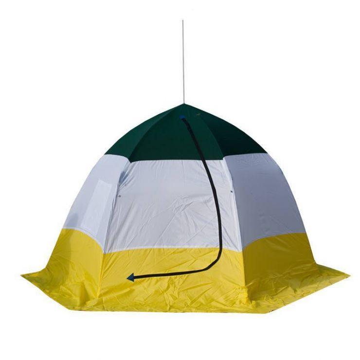Палатка   зимняя Стэк  4-х мест брезент ELITE
