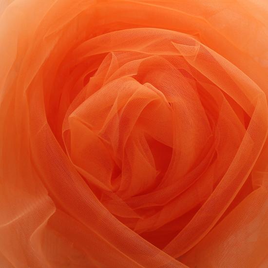 Мягкий фатин (еврофатин) 300*25 - Оранжевый