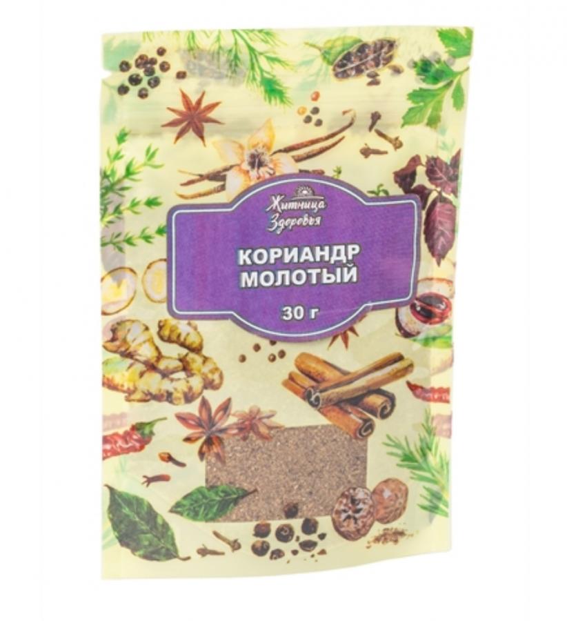 ЖИТНИЦА ЗДОРОВЬЯ Кориандр молотый 30 г
