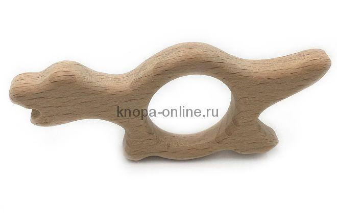 Деревянный грызунок - Динозаврик