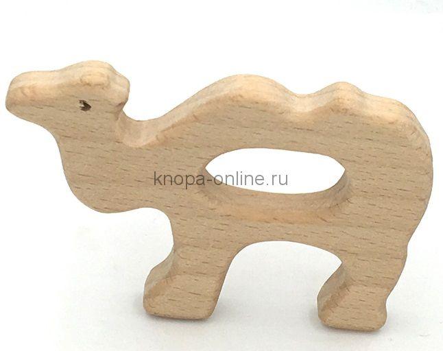 Деревянный грызунок - Верблюд