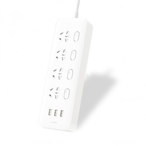 Удлинитель Xiaomi Mi Power Strip 4 Socket USB