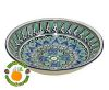 Узбекская тарелка глубокая