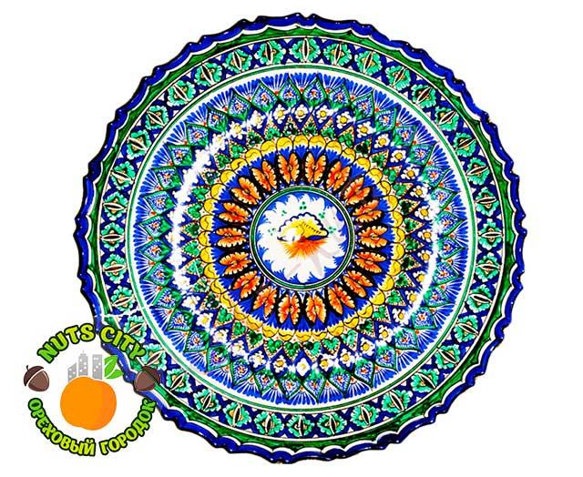 Тарелка Рифленая Большая 43см