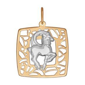 Золотая подвеска «Знак зодиака Козерог» 033636 SOKOLOV