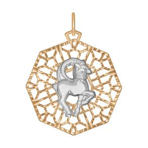 Подвеска «Знак зодиака Козерог» 033736 SOKOLOV