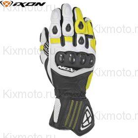 Перчатки Ixon Rs Titl, Черный/белый/желтый