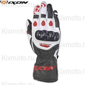 Перчатки Ixon Rs Circuit 2, Черный/белый/красный