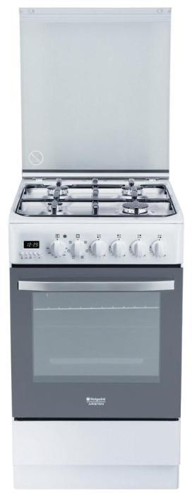 Газовая плита HOTPOINT-ARISTON H5G56F (W) RU