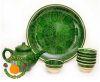 восточная керамика зеленая набор