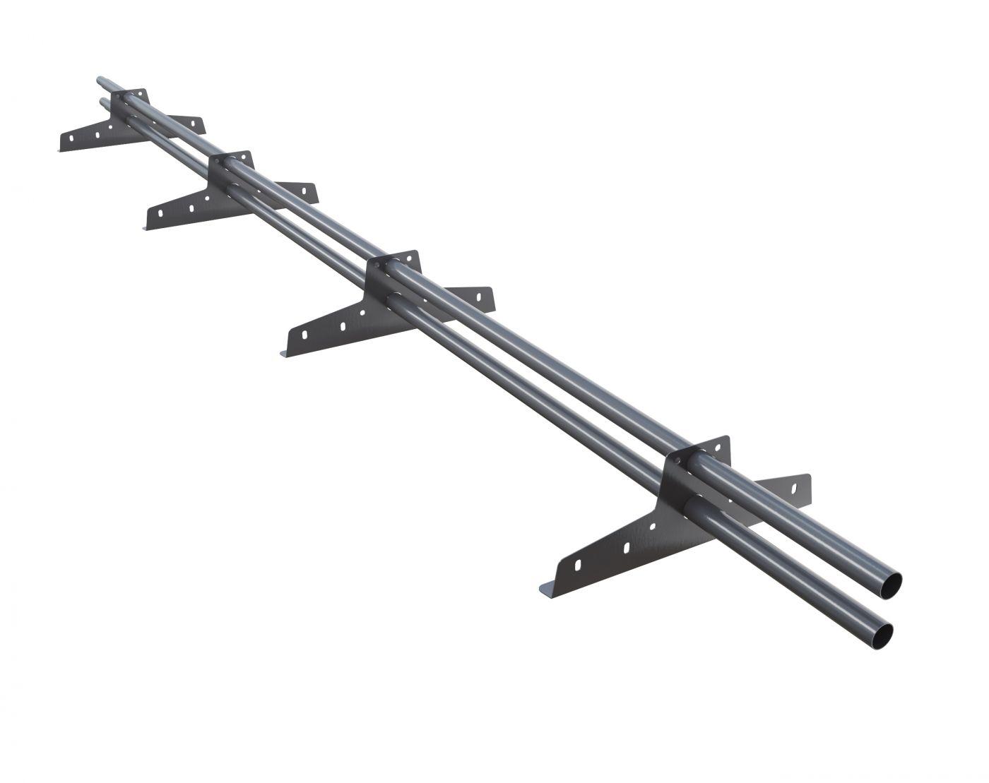 Снегозадержатель трубчатый «NewLine» (ø25 мм) 3 метра