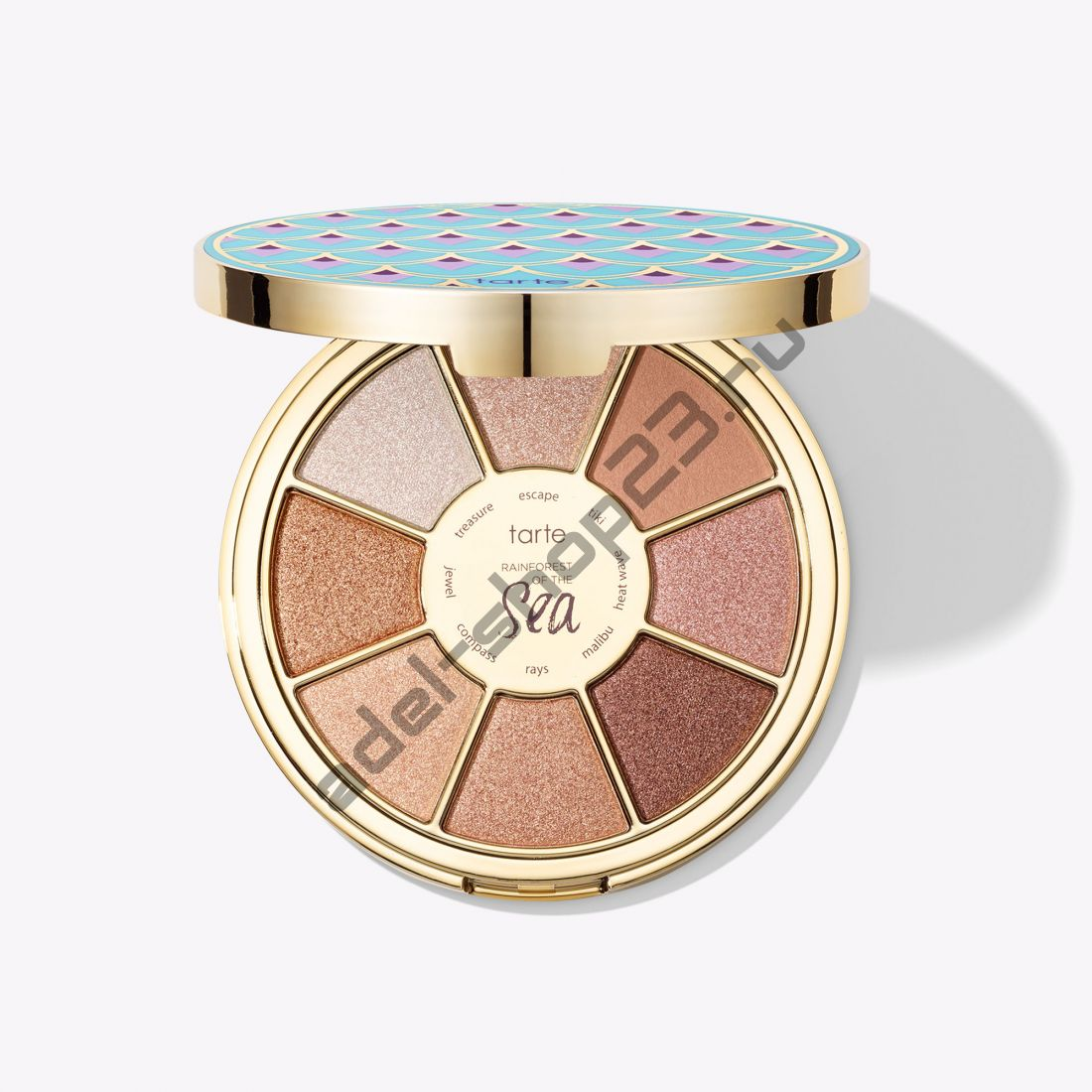 Tarte - limited-edition Rainforest of the Sea highlighting eyeshadow palette vol. III