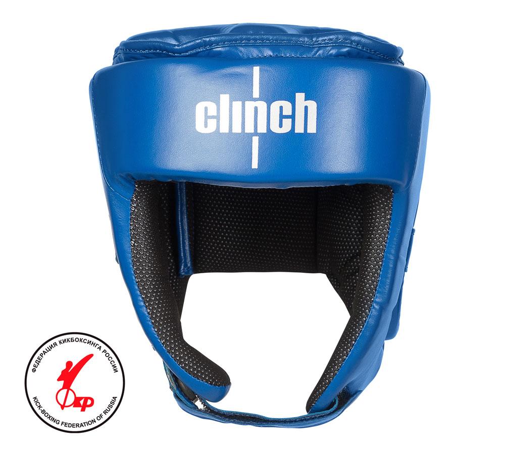 Шлем для единоборств Clinch Helmet Kick синий размер L, артикул C142