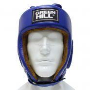 Боксерский шлем Green Hill Five Star одобренный AIBA HGF-4012 Синий