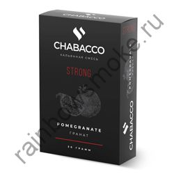 Chabacco Strong 50 гр - Pomegranate (Гранат)