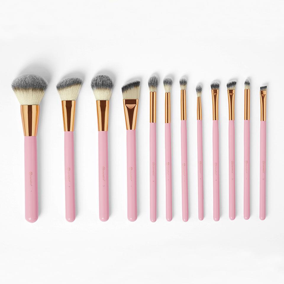 Набор кистей для макияжа BH COSMETICS - Pink Studded Elegance