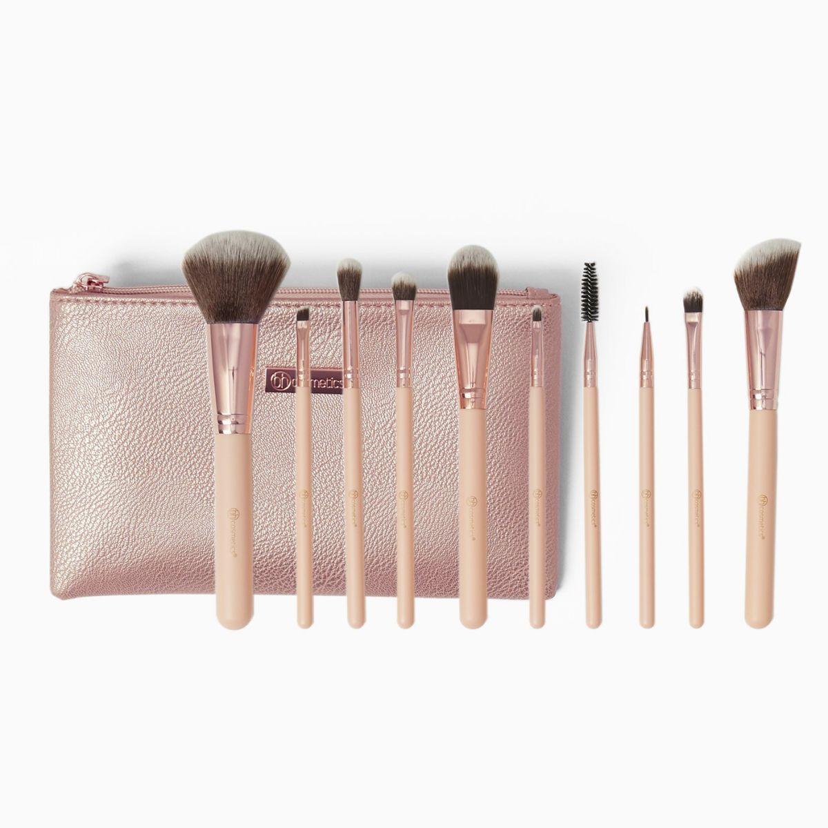 Набор кистей для макияжа BH COSMETICS - PRETTY IN PINK