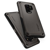 Чехол Spigen Hybrid Armor для Samsung Galaxy S9 Plus стальной: купить недорого в Москве — доступные цены на противоударные чехлы Спиген для телефонов Самсунг галакси С9 Плюс в интернет-магазине «Elite-Case.ru»
