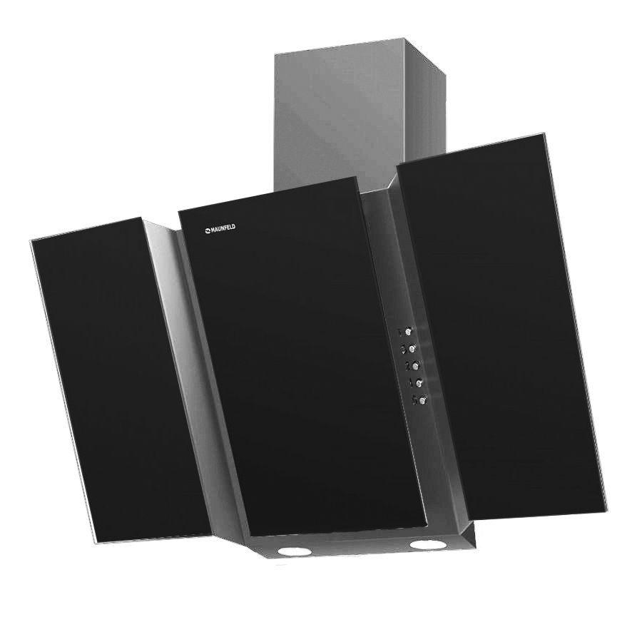 Кухонная вытяжка MAUNFELD Trent Glass 90 черный / серый