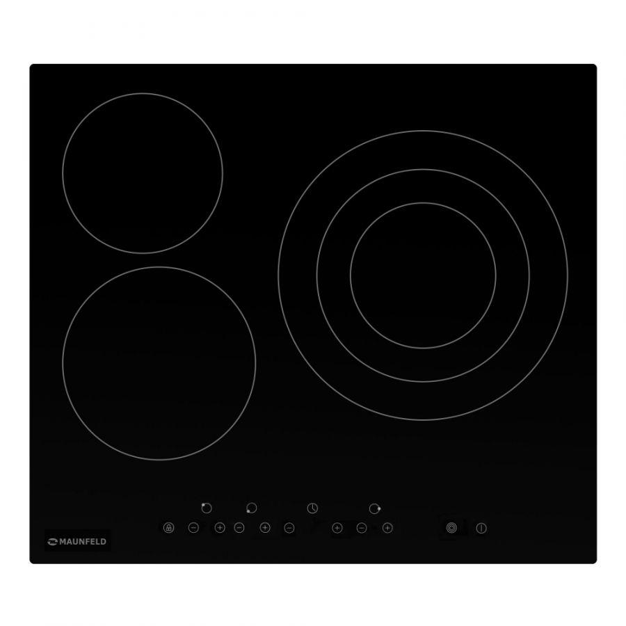 Стеклокерамическая панель MAUNFELD EVCE.593.T-BK черный