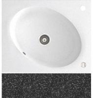 Кухонная мойка Marmorin Tono Black 1 чаша 430 103 002