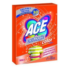 Пятновыводитель Ace Oxi Magic Color 500г