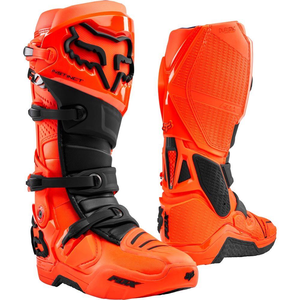 Fox - 2020 Instinct Fluorescent Orange мотоботы, флуоресцентные оранжевые